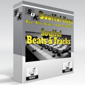 Neo Soul Beats - 13 Tracks with separated instruments & Chord info. - $6.99